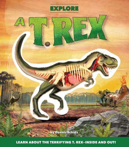 Explore a T. Rex book