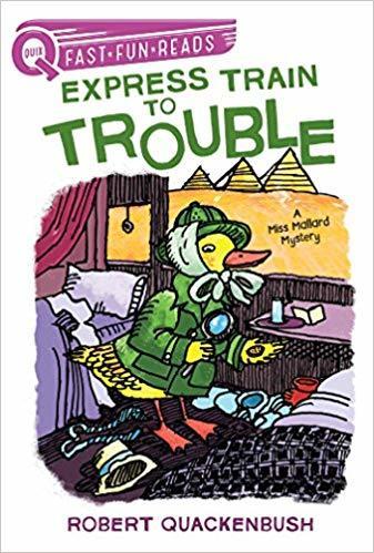 Express Train to Trouble: A Miss Mallard Mystery book