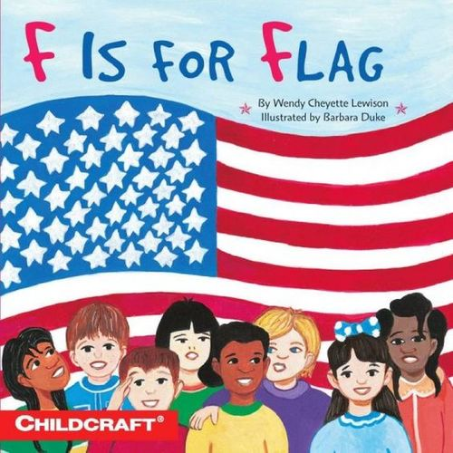 F Is for Flag book
