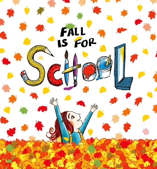 Fall is for School book
