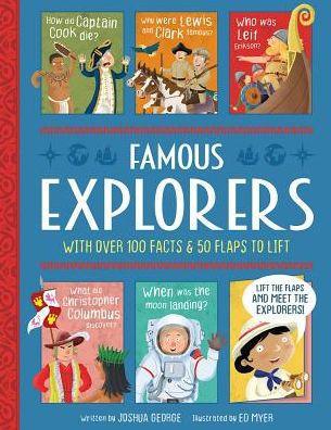 Famous Explorers book