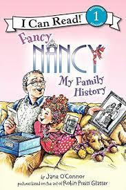 Fancy Nancy: My Family History book