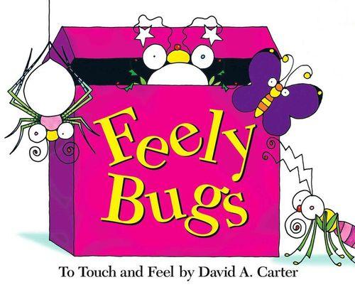 Feely Bugs book