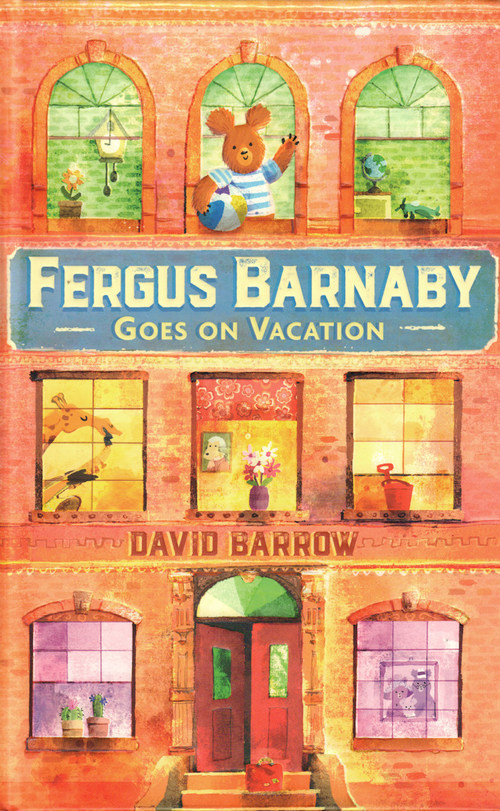Fergus Barnaby Goes on Vacation book