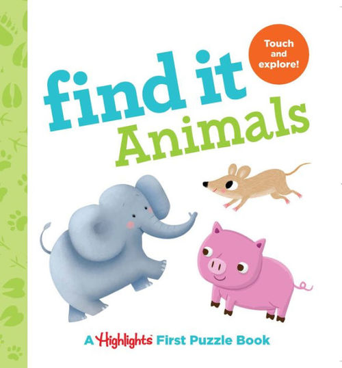 Find It Animals book