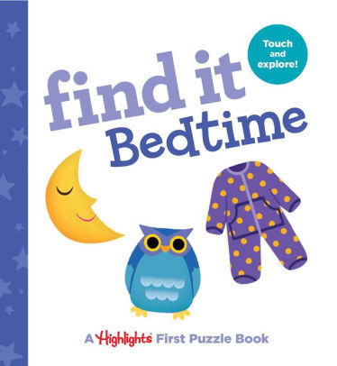 Find It Bedtime: Baby's First Puzzle Book book