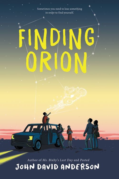 Finding Orion book