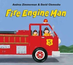 Fire Engine Man book