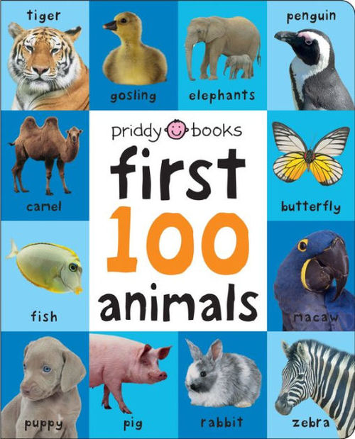 First 100 Animals Padded book