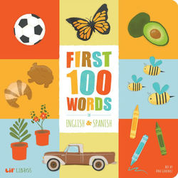 First 100 Words in English and Spanish book