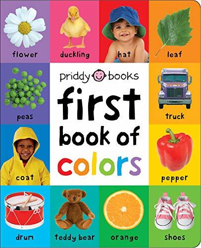 First Book of Colors Padded book