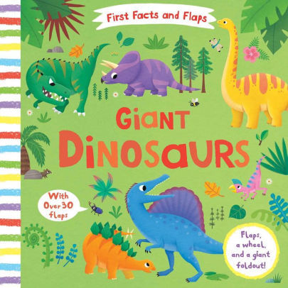 First Facts and Flaps: Giant Dinosaurs book