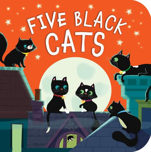 Five Black Cats book