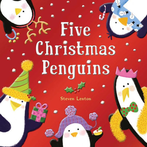 Five Christmas Penguins book