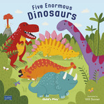 Five Enormous Dinosaurs book