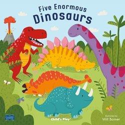 Five Enormous Dinosaurs book