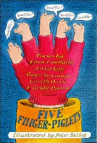 Five Finger-Piglets book