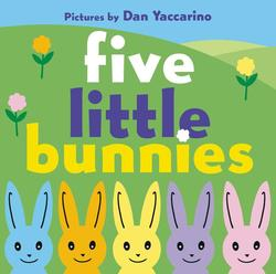 Five Little Bunnies book