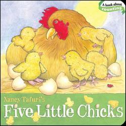 Five Little Chicks book