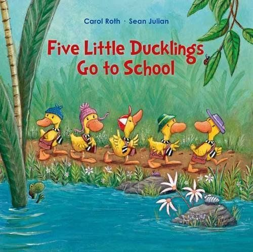 Five Little Ducks Go to School book