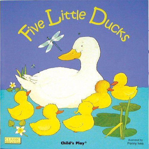 Five Little Ducks book