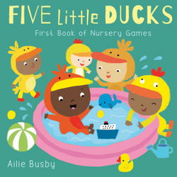 Five Little Ducks Nursery Games book