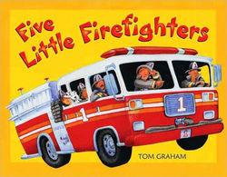 Five Little Firefighters book