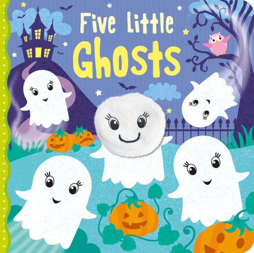 Five Little Ghosts book