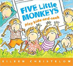 Five Little Monkeys Play Hide and Seek book
