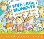 Five Little Monkeys Play Hide and Seek book