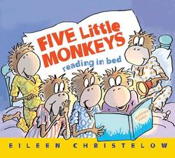 Five Little Monkeys Reading in Bed book