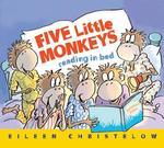 Five Little Monkeys Reading in Bed book