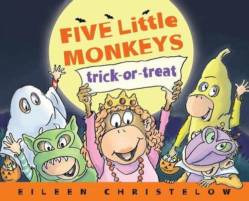 Five Little Monkeys Trick-Or-Treat book