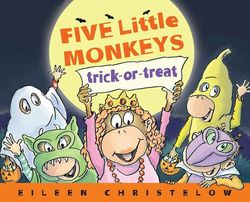 Five Little Monkeys Trick-Or-Treat book