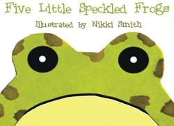 Five Little Speckled Frogs book