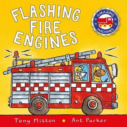 Flashing Fire Engines Book