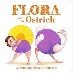 Flora and the Ostrich book