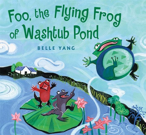 Foo, the Flying Frog of Washtub Pond book