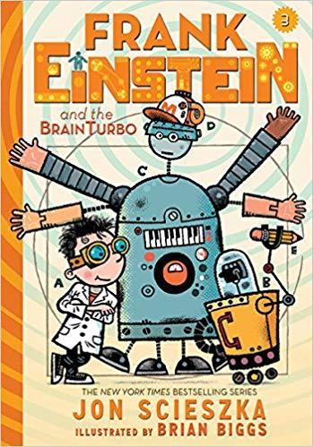Frank Einstein and the BrainTurbo book
