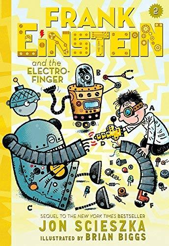 Frank Einstein and the Electro-Finger book