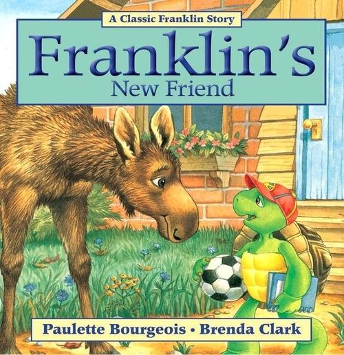 Franklin's New Friend book