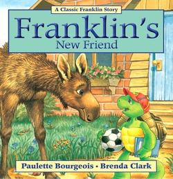 Franklin's New Friend book