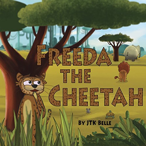 Freeda the Cheetah book