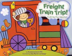 Freight Train Trip! book