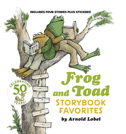 Frog and Toad Storybook Favorites: Includes 4 Stories Plus Stickers! [With Stickers] book