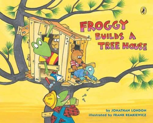 Froggy Builds a Tree House book