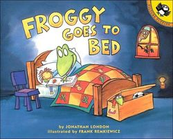 Froggy Goes to Bed book