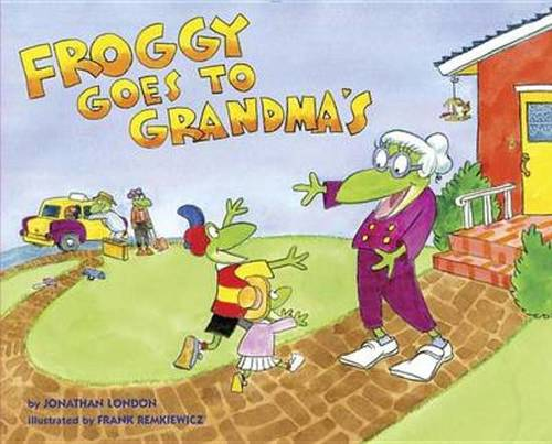 Froggy Goes to Grandma's book