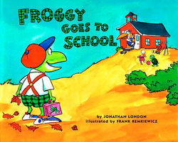 Froggy Goes to School book