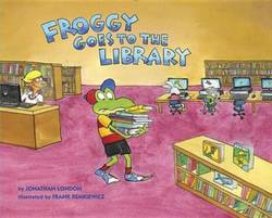 Froggy Goes to the Library book